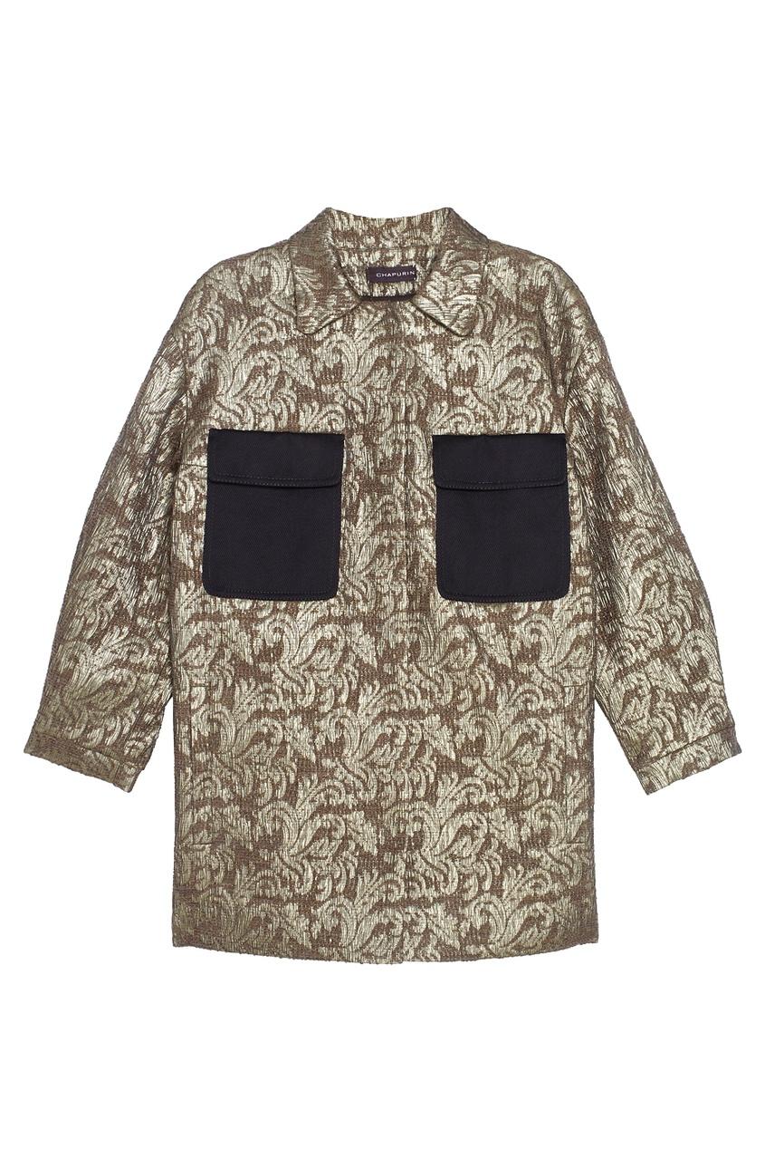 Куртка из жаккарда
