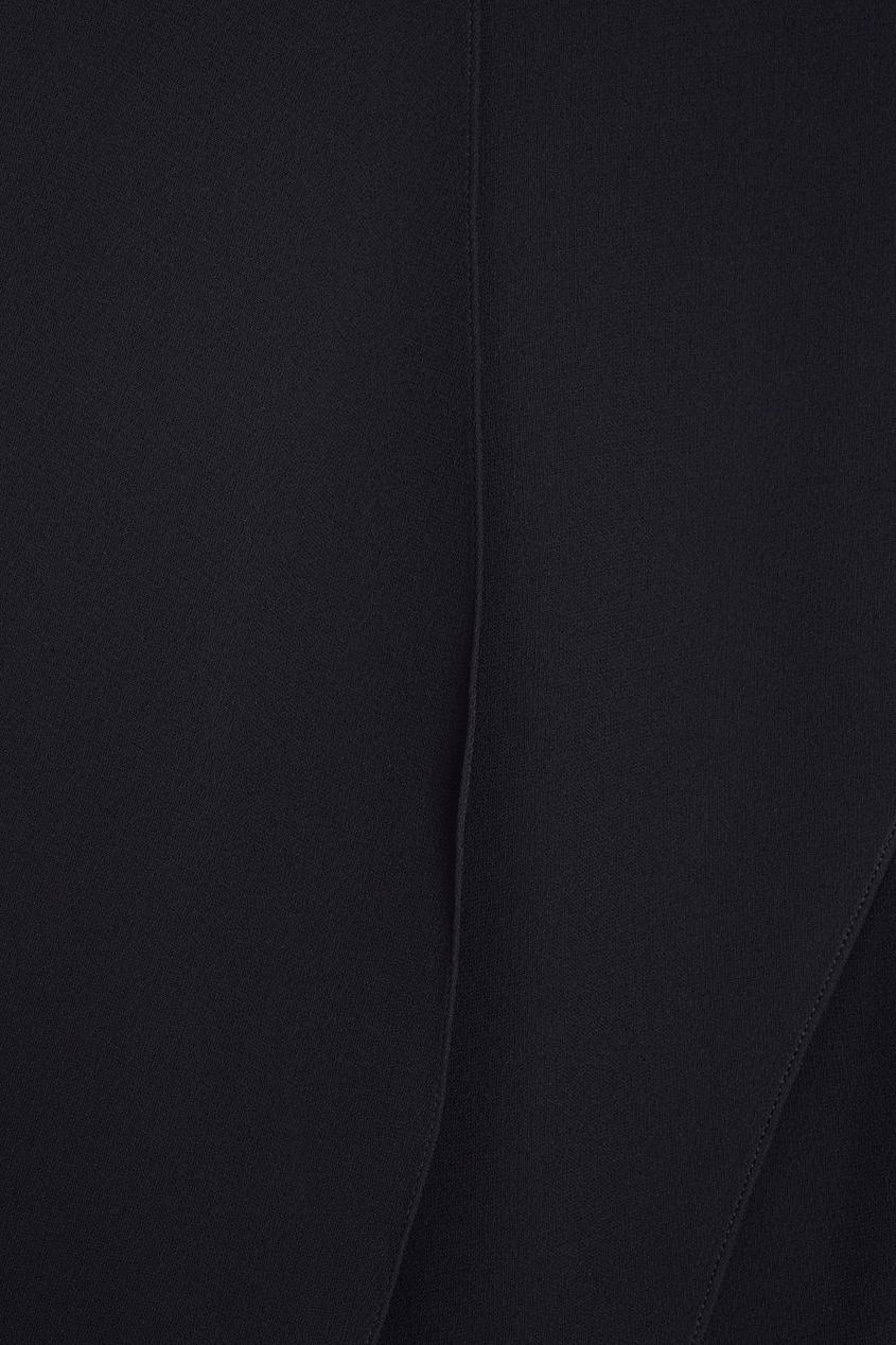 Фото 3 - Шелковое платье от Chapurin черного цвета