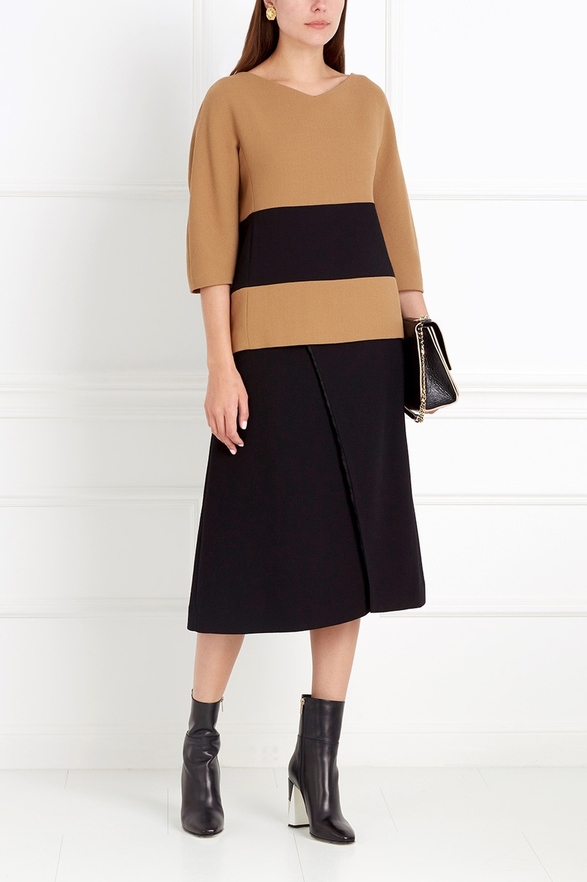 Фото 2 - Шерстяная блузка от Chapurin цвет multicolor