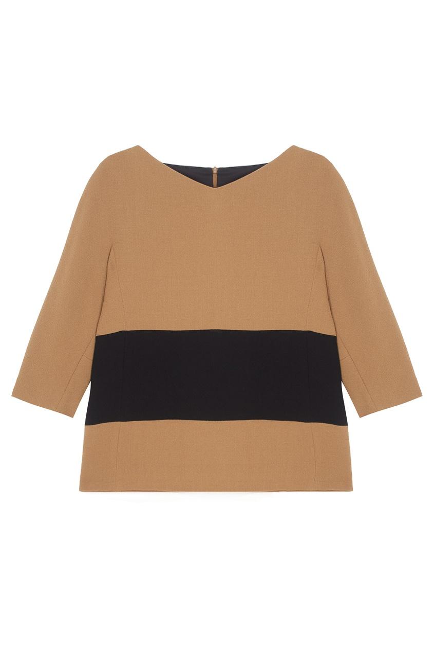 Фото 3 - Шерстяная блузка от Chapurin цвет multicolor