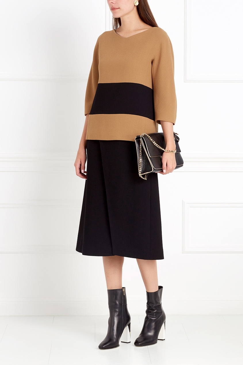 Фото 4 - Шерстяная блузка от Chapurin цвет multicolor