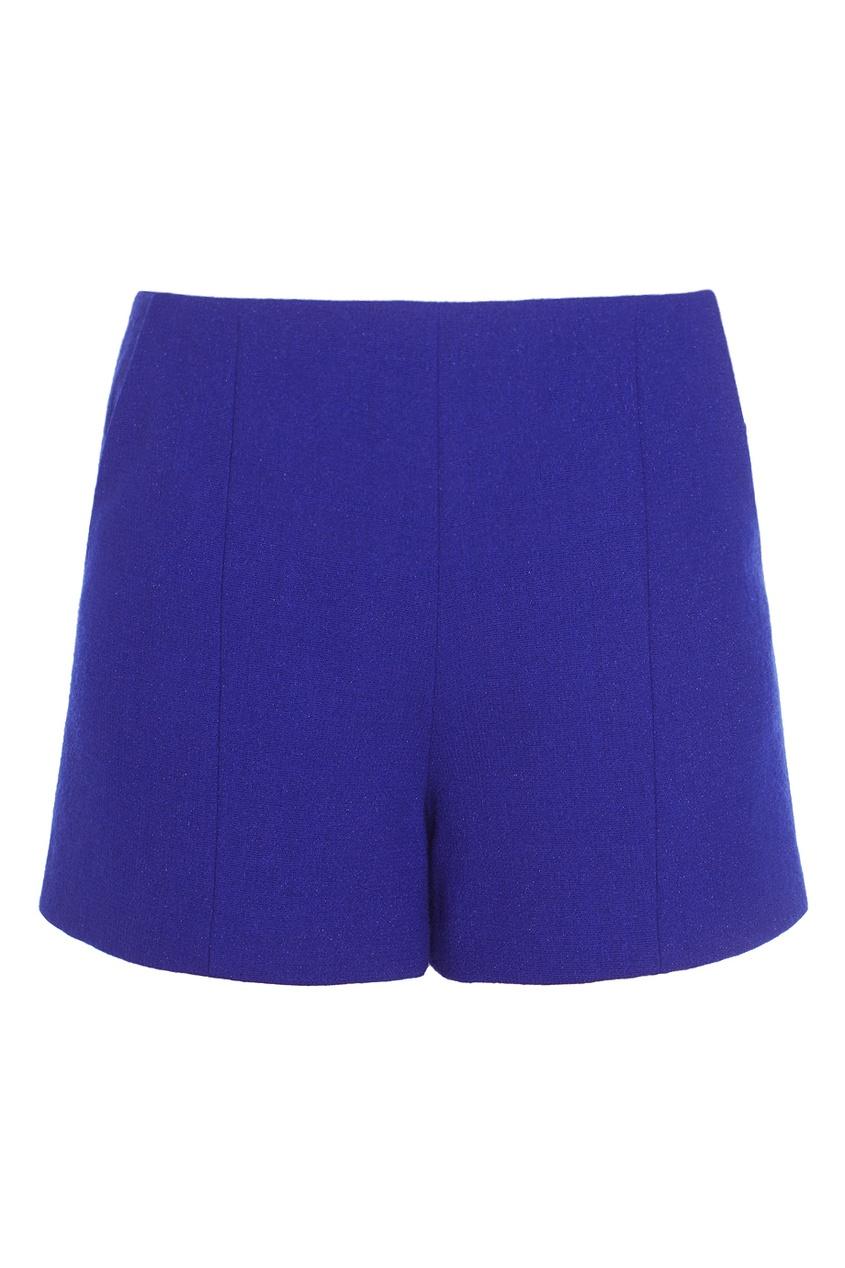 Фото 3 - Шерстяные шорты от Chapurin синего цвета