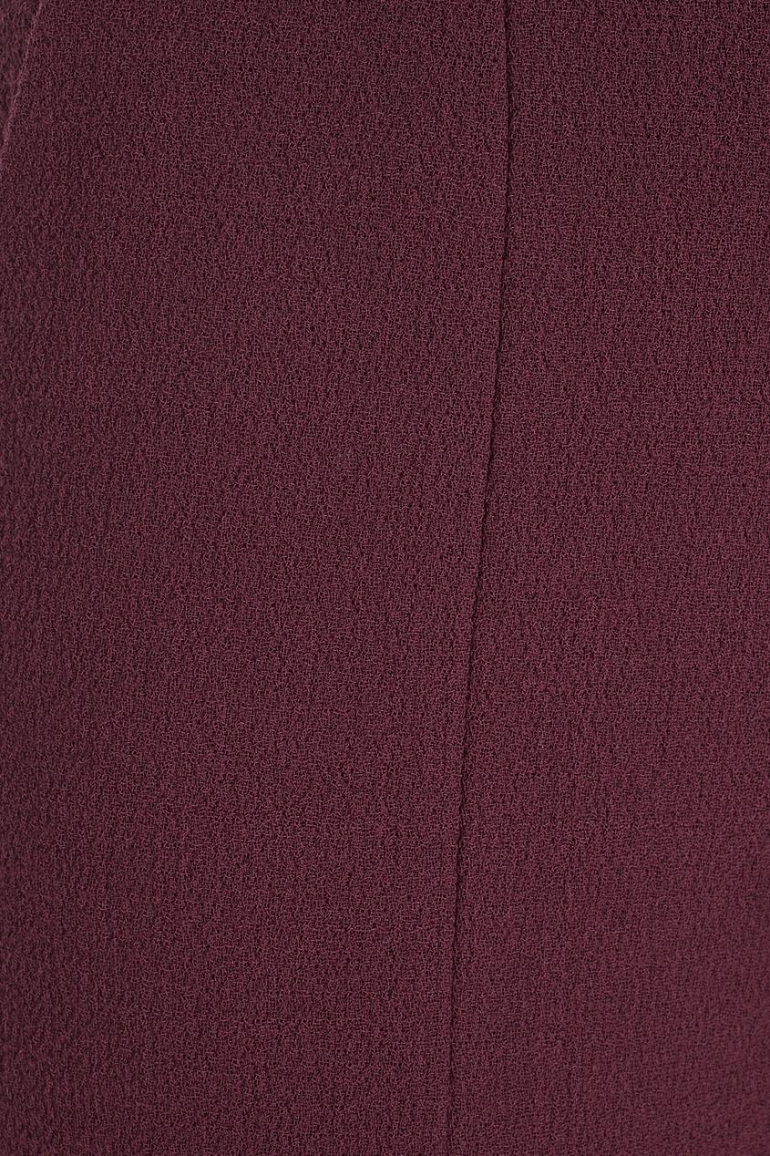 Фото 2 - Шерстяные шорты от Chapurin красного цвета