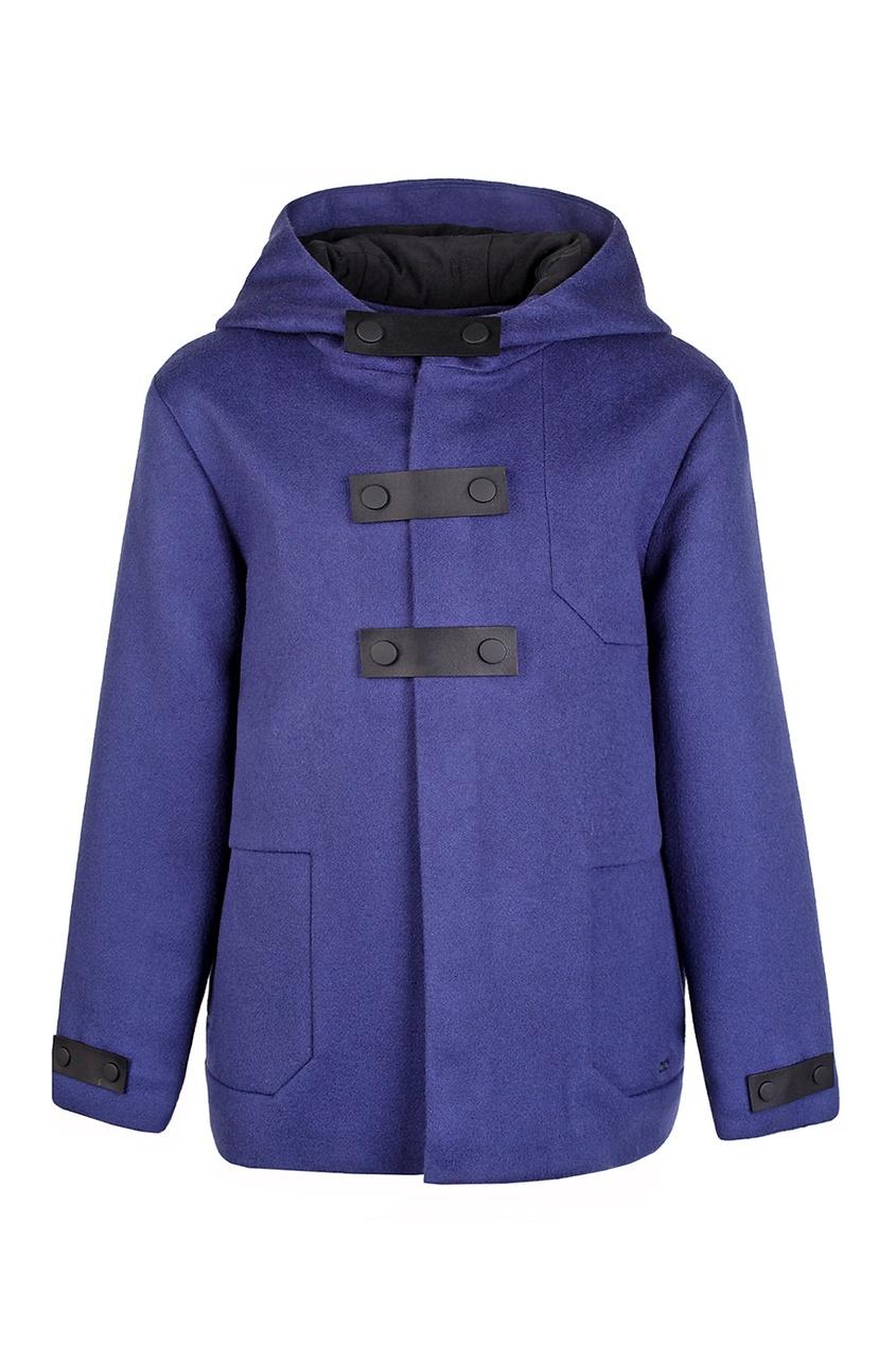 Шерстяное пальто от Dior Kids