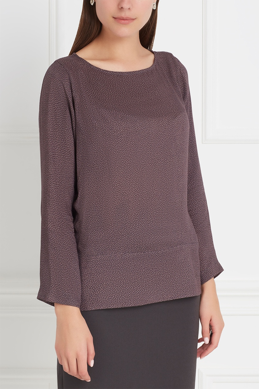 Прямая блузка