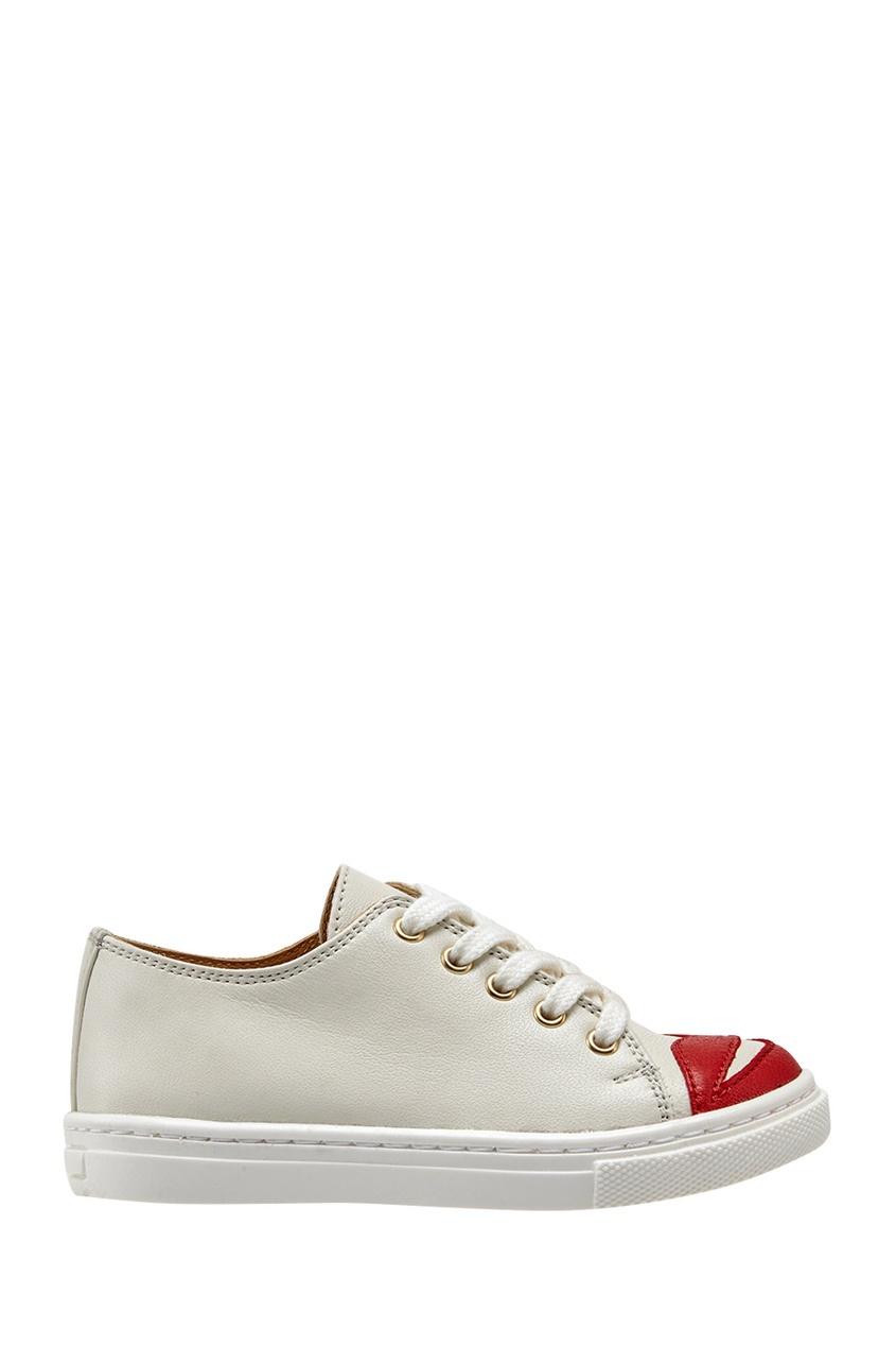 Кожаные кеды Incy Kiss Me Sneakers