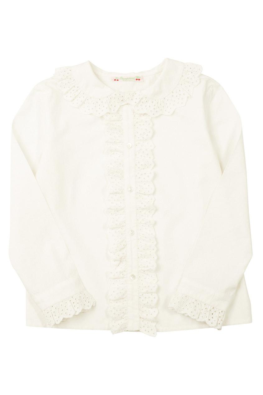 Однотонная блузка Darline