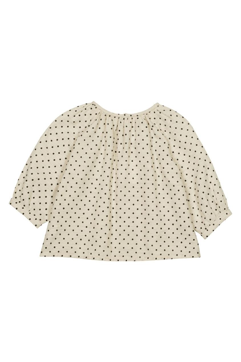 Блузка в горох Dine