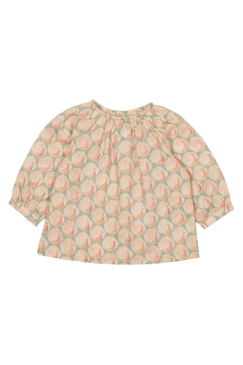 Блузка с принтом Dine