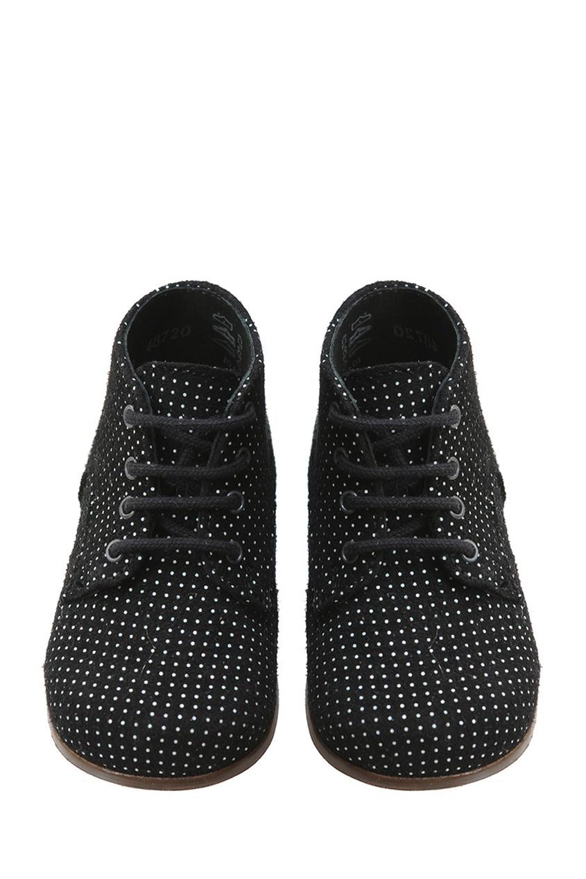 Фото - Замшевые ботинки Little Mary for Bonpoint черного цвета