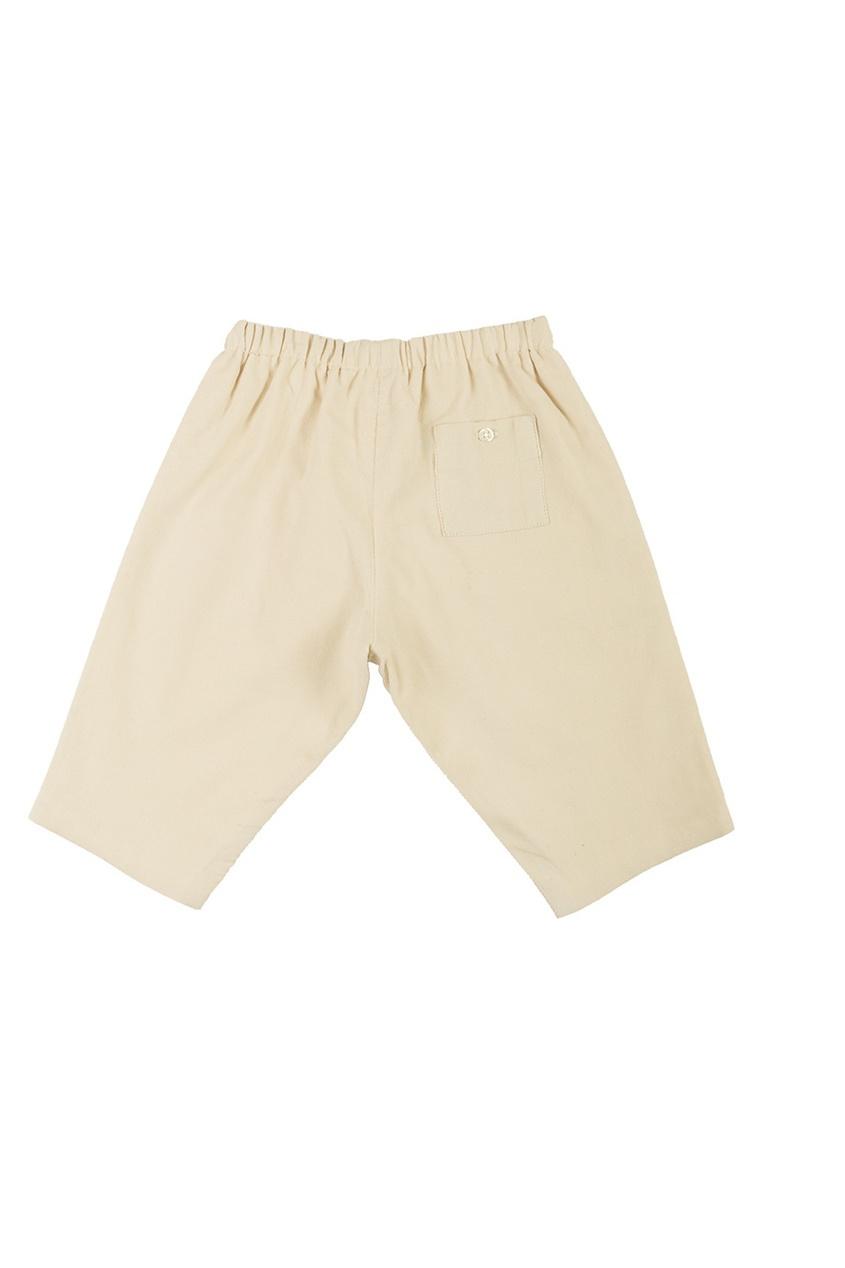 Фото - Однотонные брюки Dandy от Bonpoint бежевого цвета
