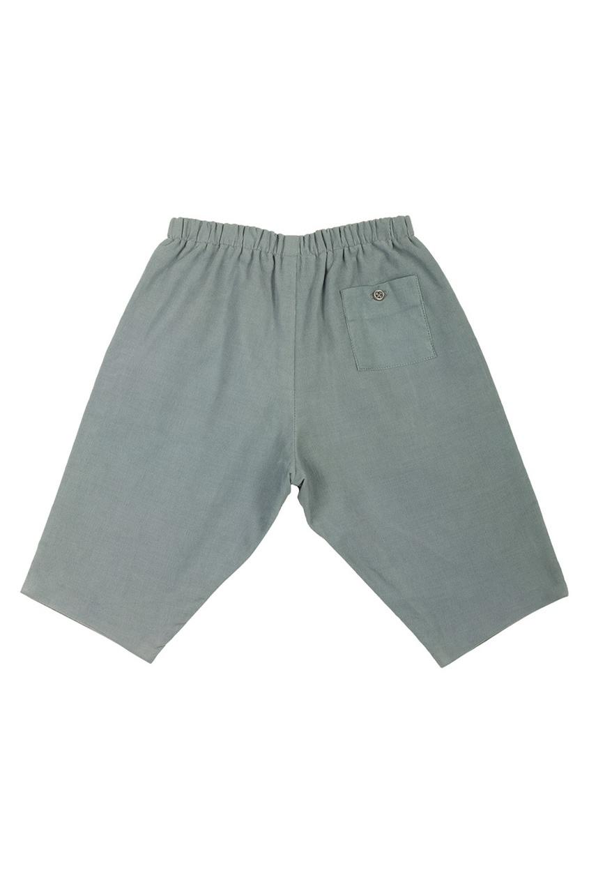 Фото - Однотонные брюки Dandy от Bonpoint синего цвета