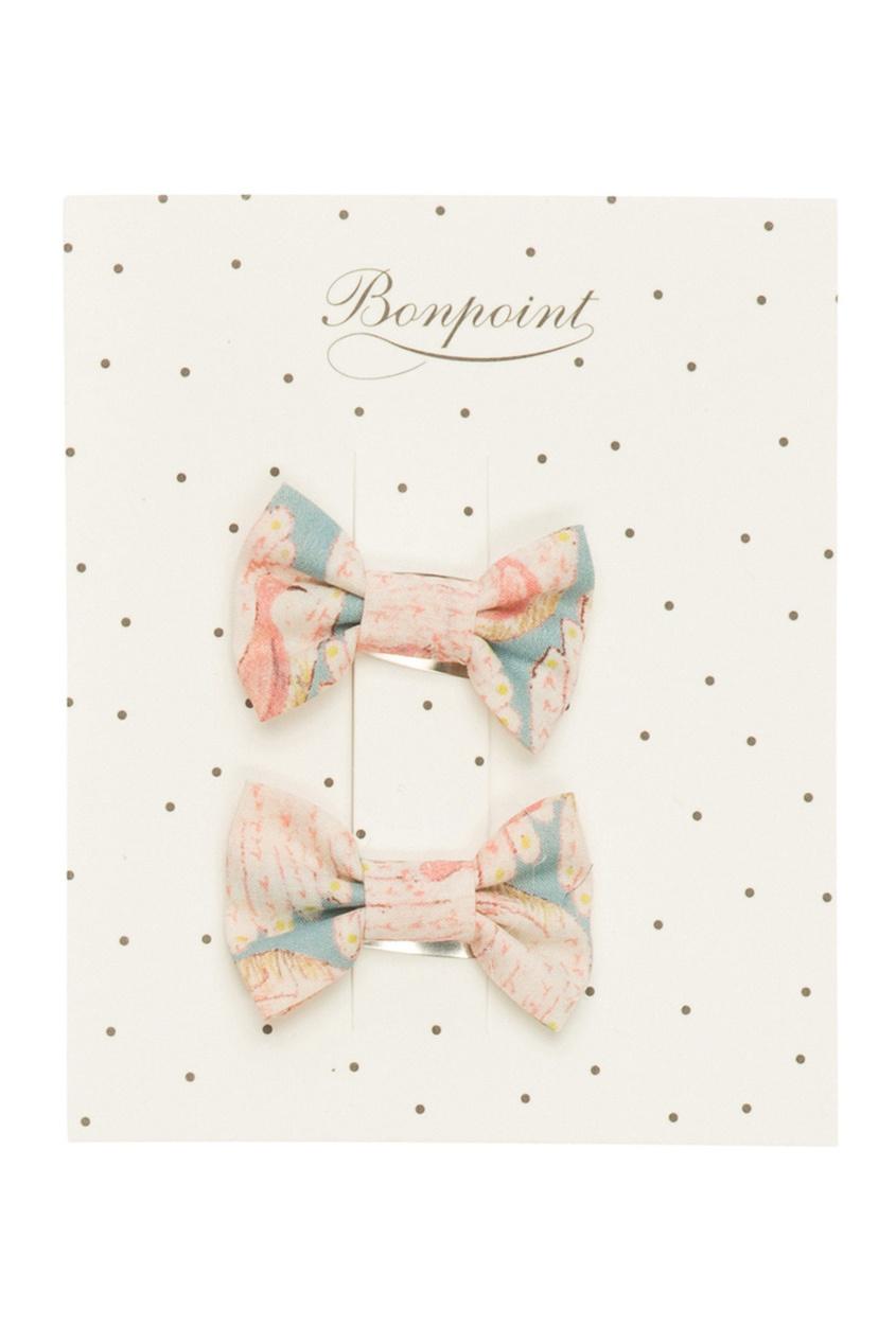 Фото - Заколку для волос Miniclic от Bonpoint розового цвета