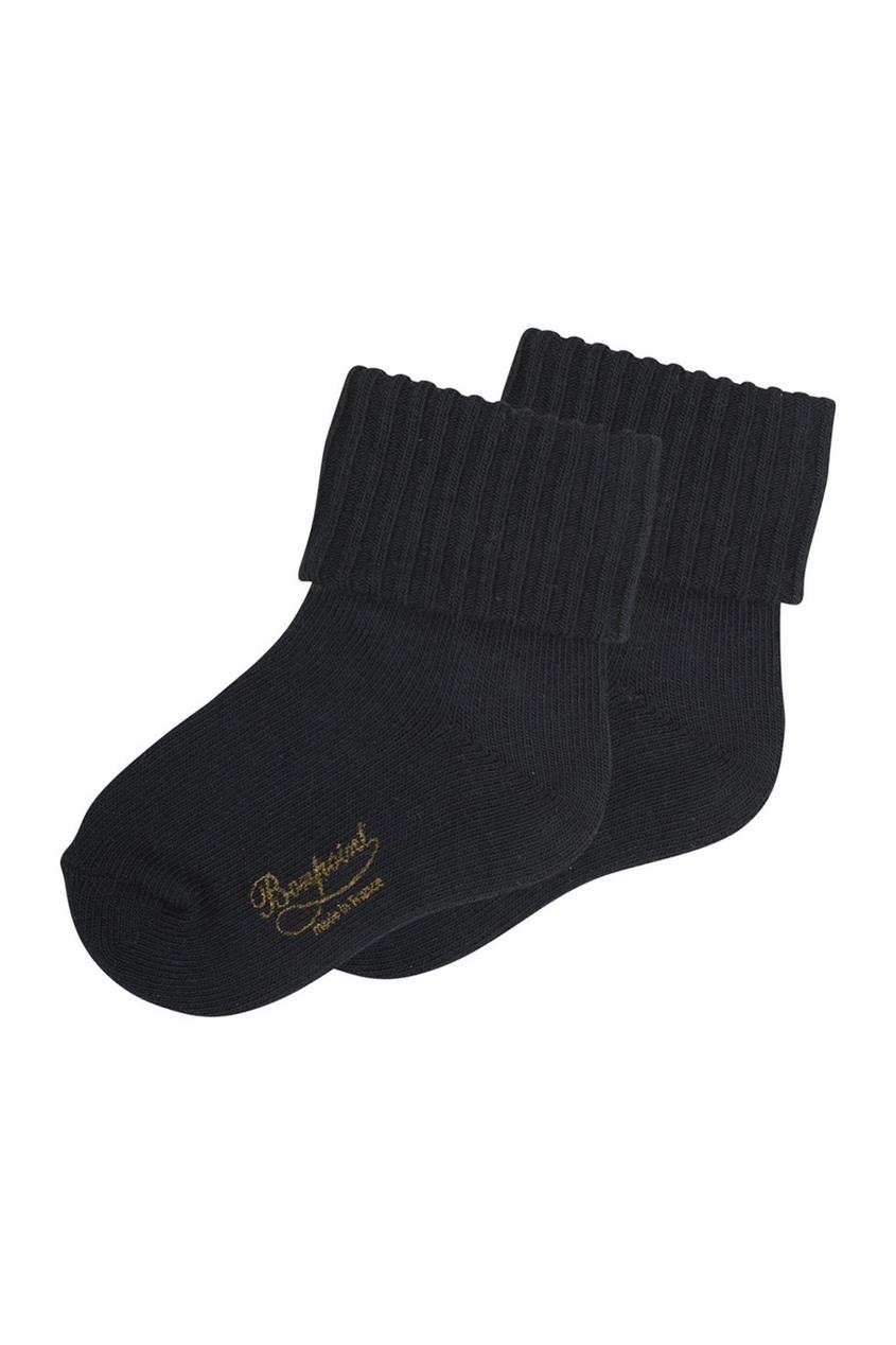 Фото - Хлопковые носки от Bonpoint синего цвета