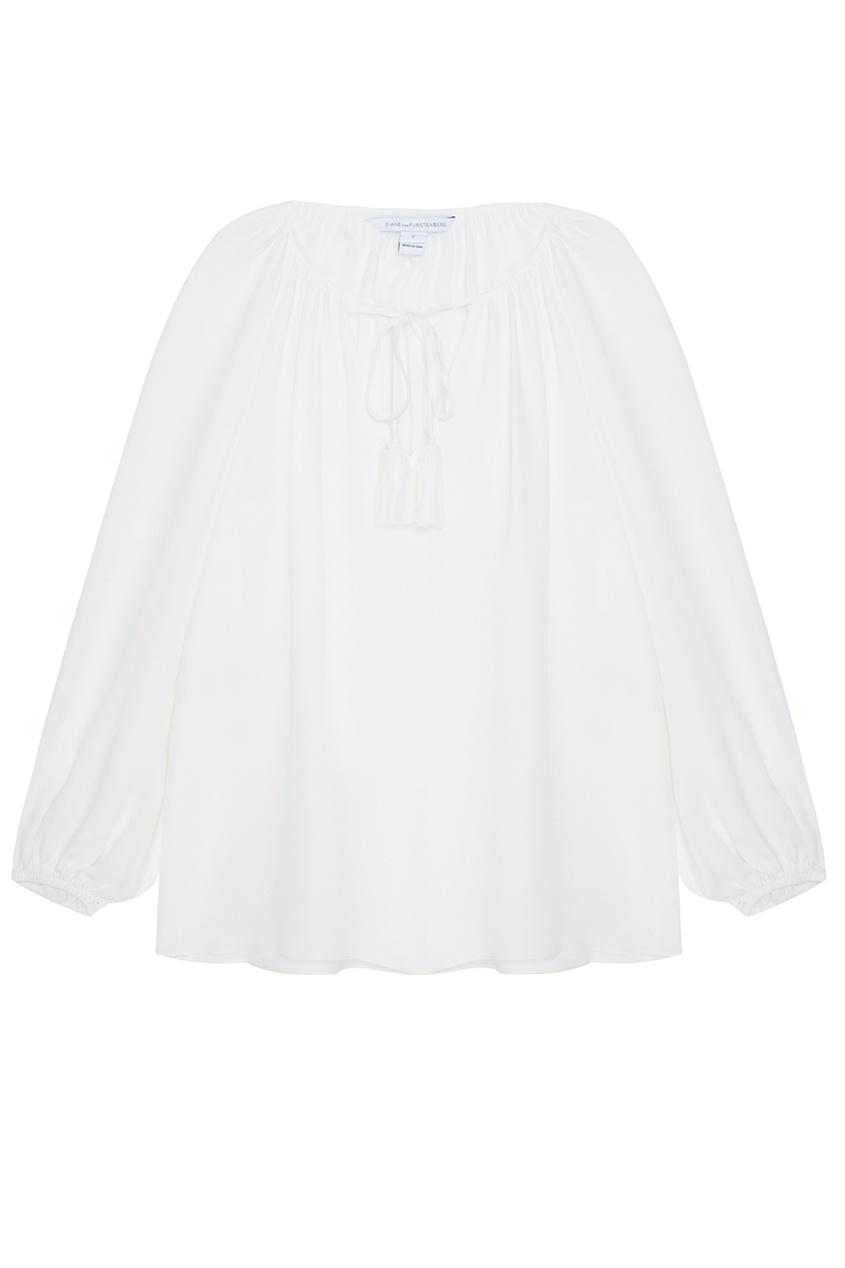 Diane von Furstenberg Шелковая блузка