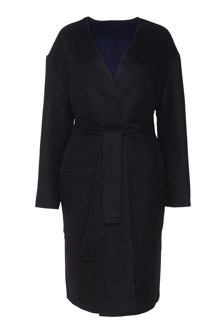 Двухстороннее шерстяное пальто