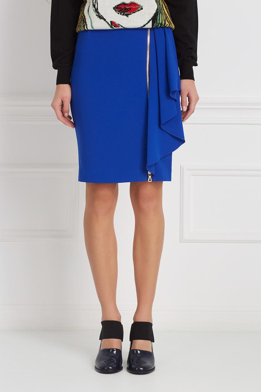 Boutique Moschino Однотонная юбка