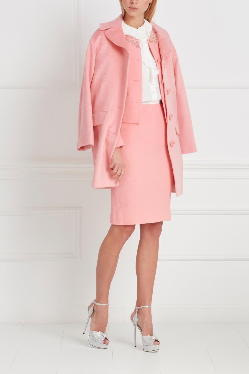 Boutique Moschino Однотонное пальто