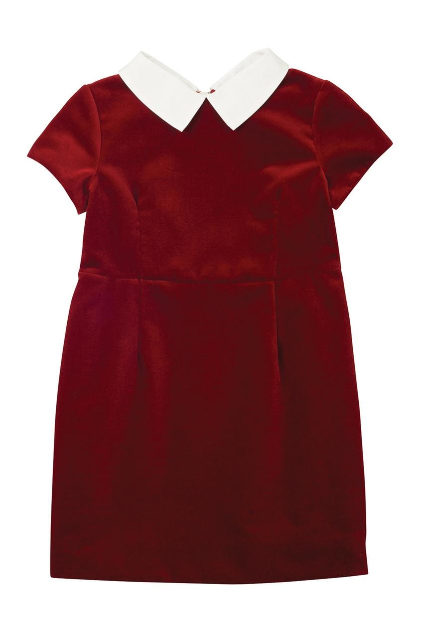 Платье с отложным воротником Diva