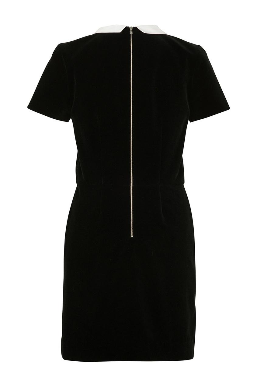 Фото 2 - Платье с отложным воротником Diva от Bonpoint черного цвета