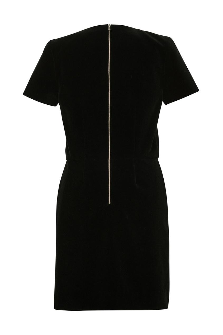 Фото 3 - Платье с отложным воротником Diva от Bonpoint черного цвета