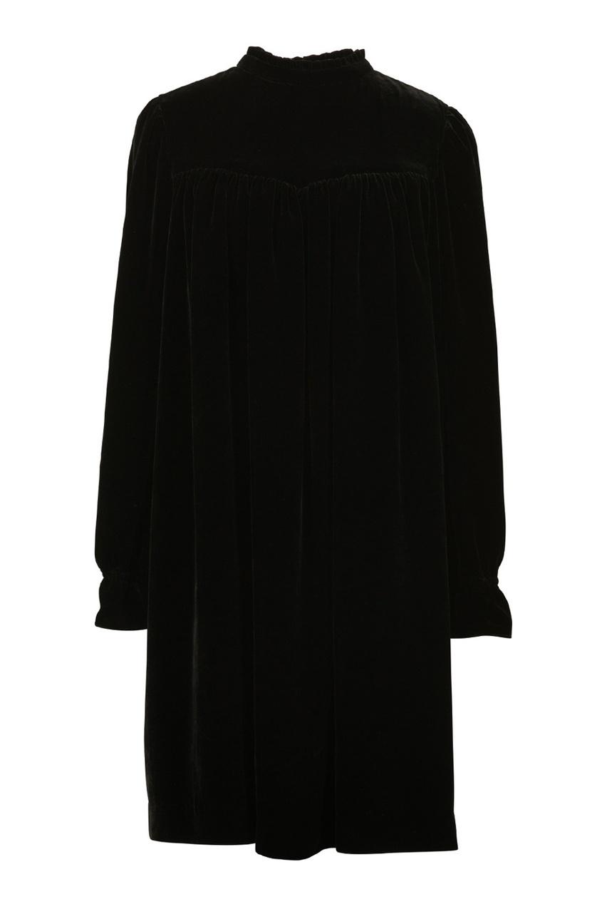 Однотонное платье Delphine