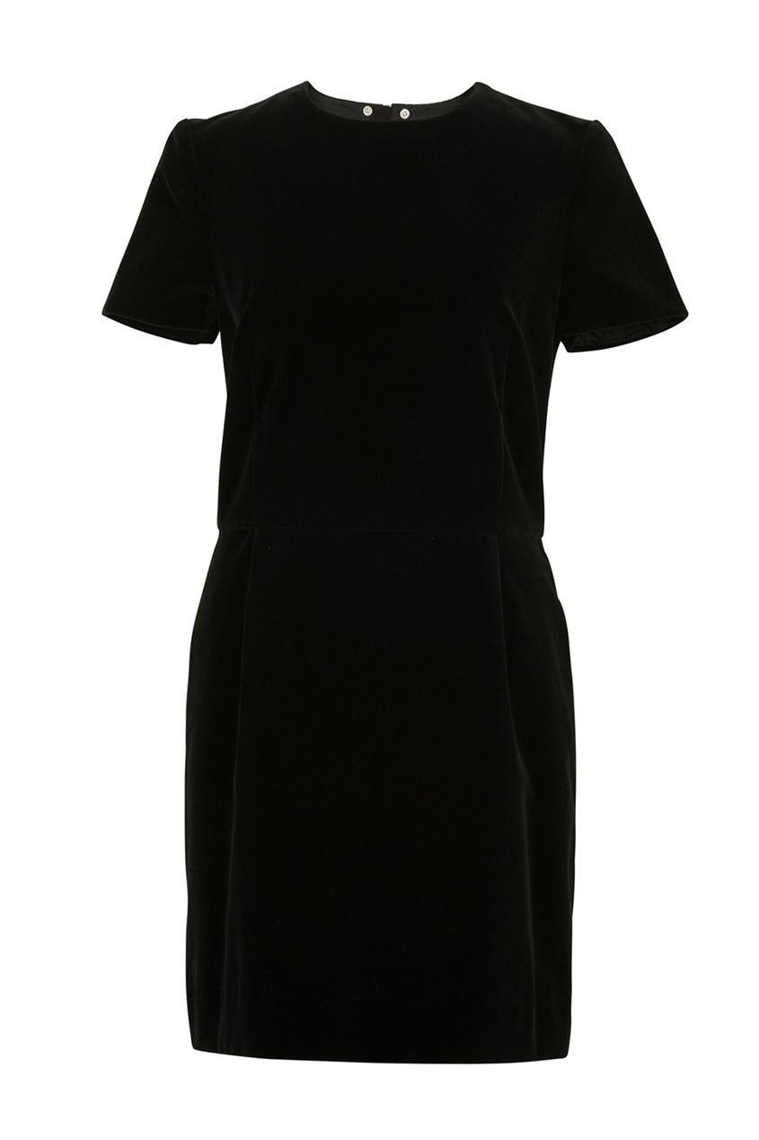Фото 4 - Платье с отложным воротником Diva от Bonpoint черного цвета