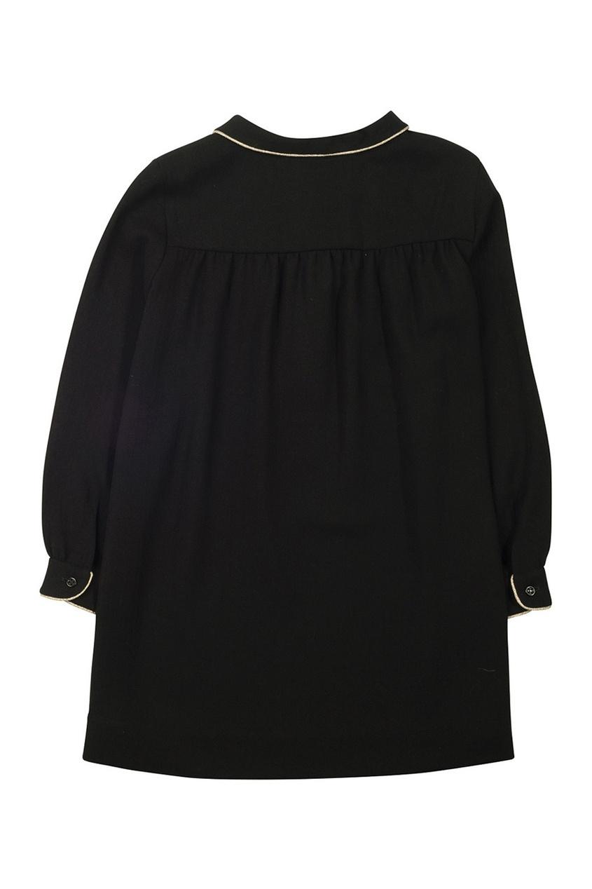 Платье с отложным воротником Dorothee