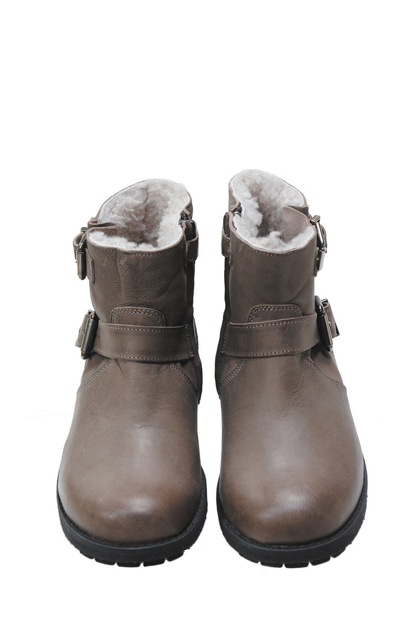 Bonpoint Кожаные сапоги кожаные сапоги