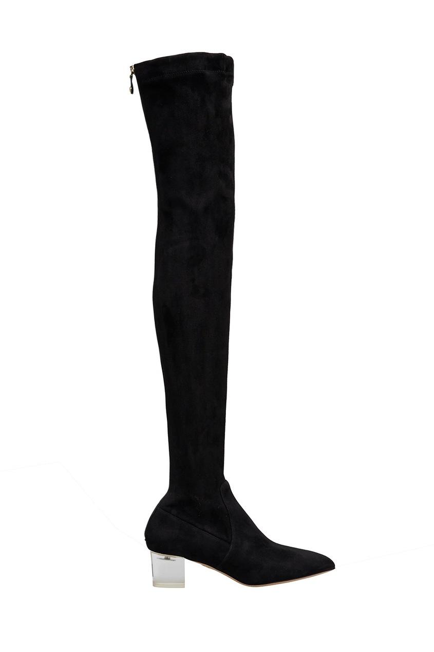 Замшевые ботфорты Endless Boots