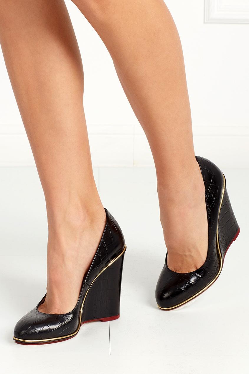 Кожаные туфли Carmen