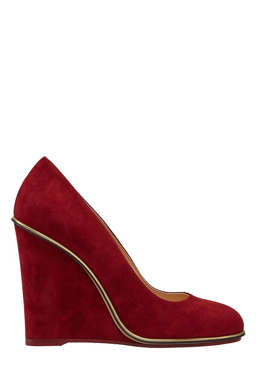 Замшевые туфли Carmen