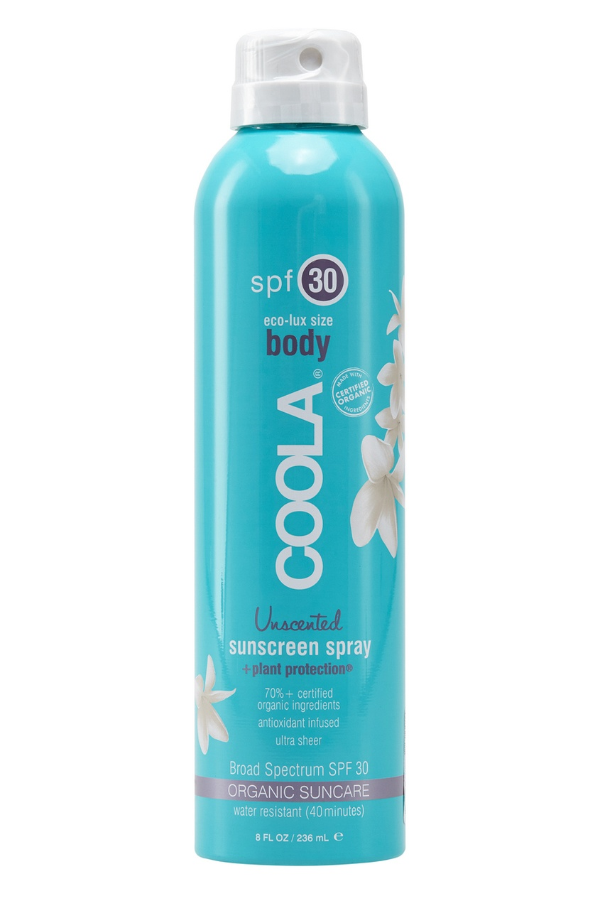 Coola Suncare Солнцезащитный спрей для лица и тела без запаха SPF30 236 мл