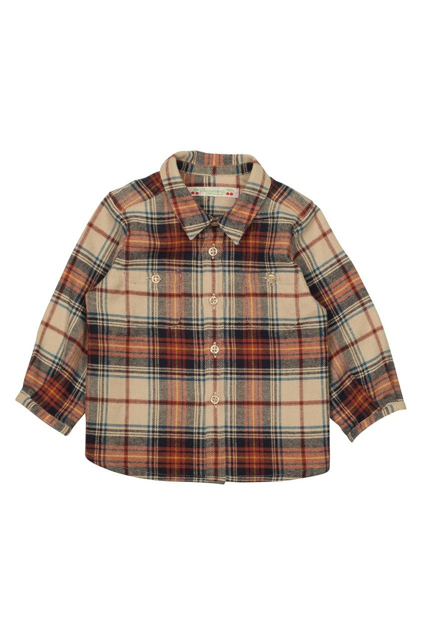 Хлопковая рубашка Mico