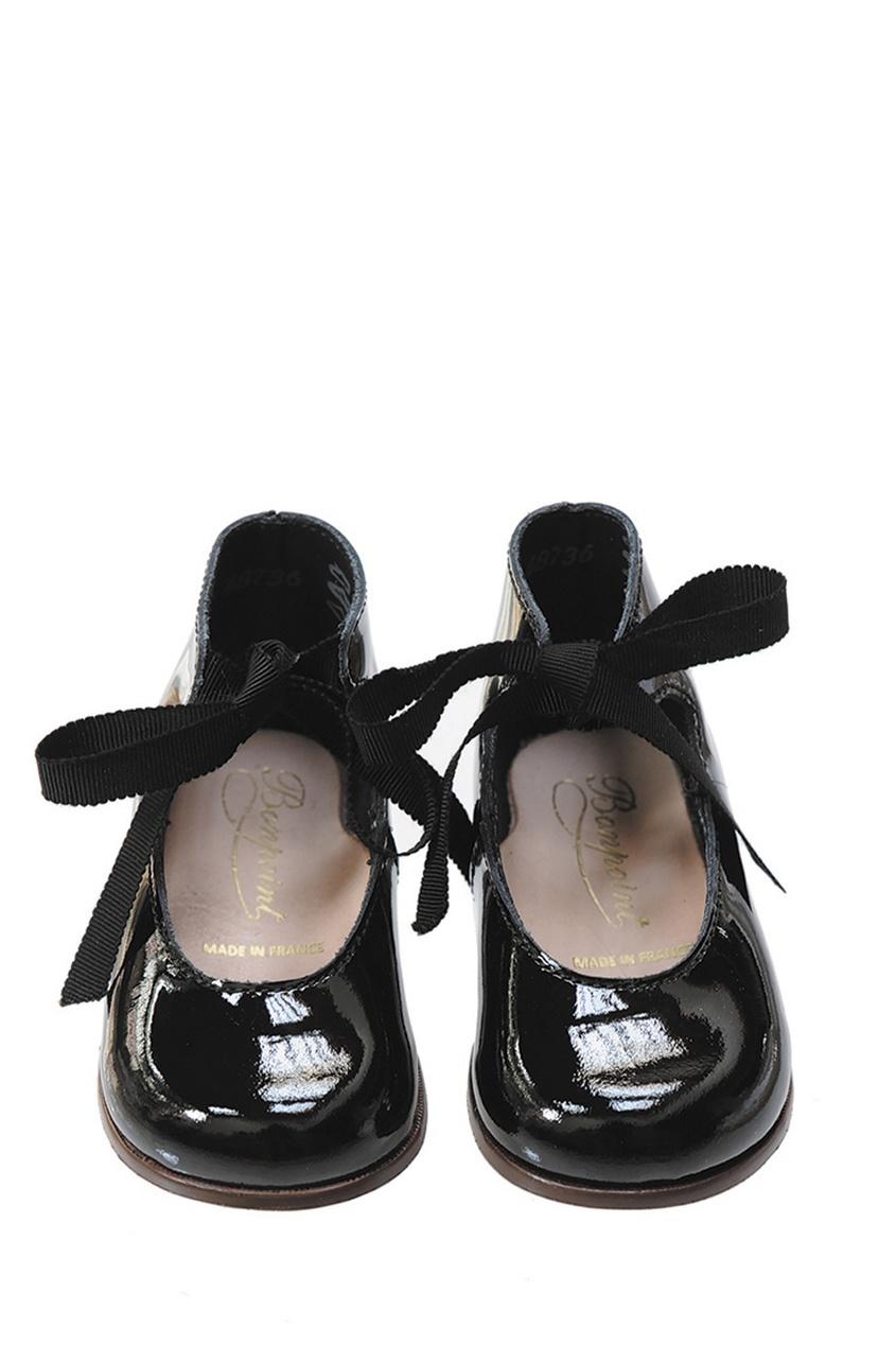 Туфли из лакированной кожи Little Mary for Bonpoint