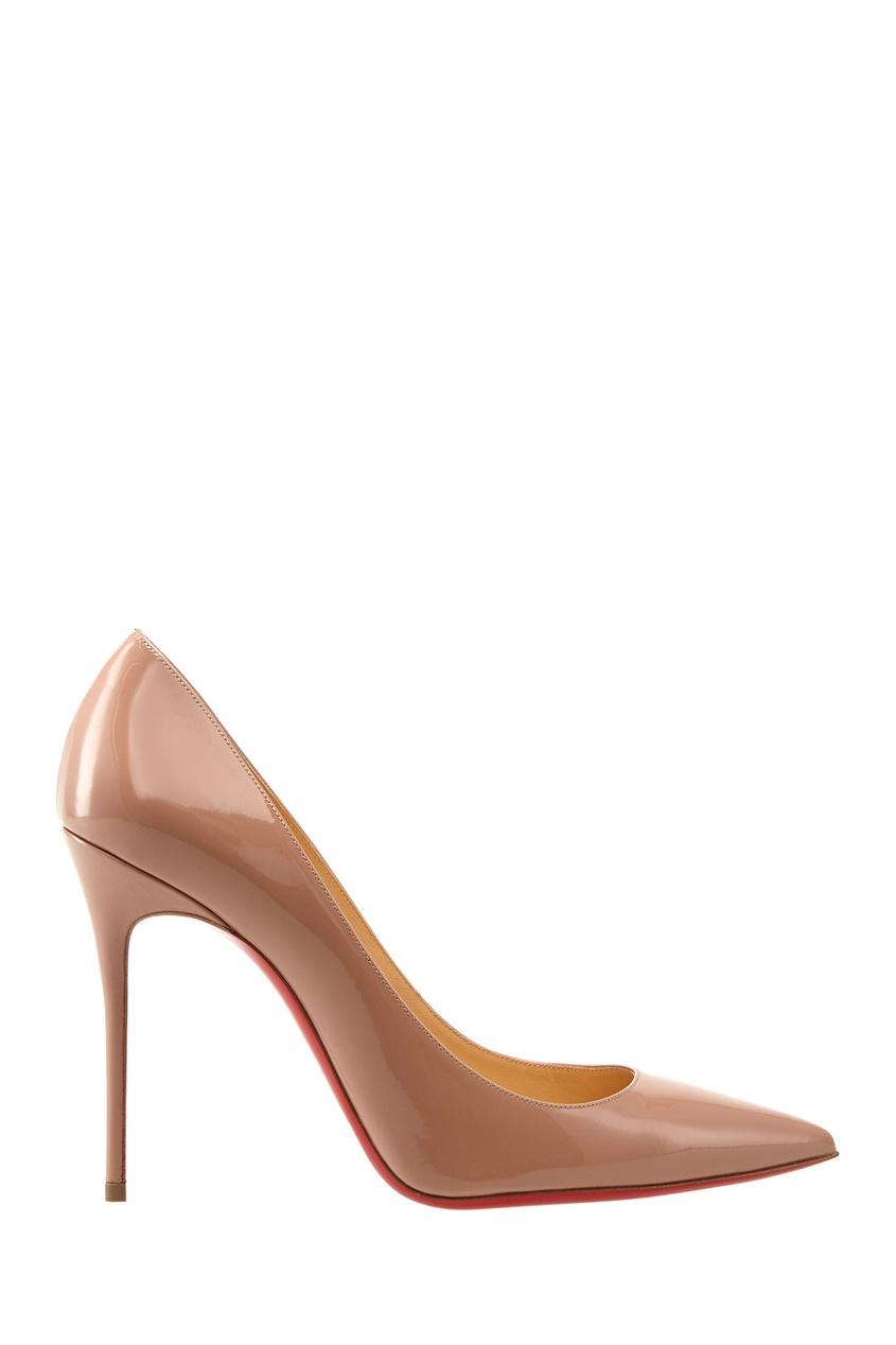 Туфли из лакированной кожи Decollete 100