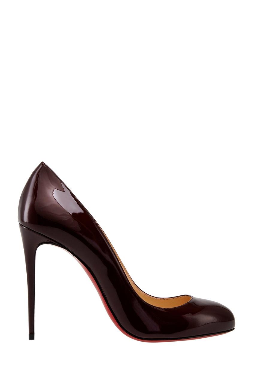 Туфли из лакированной кожи Dorissima 100