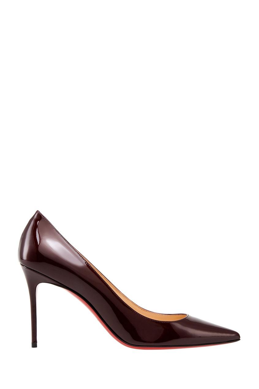 Туфли из лакированной кожи Decollete 85