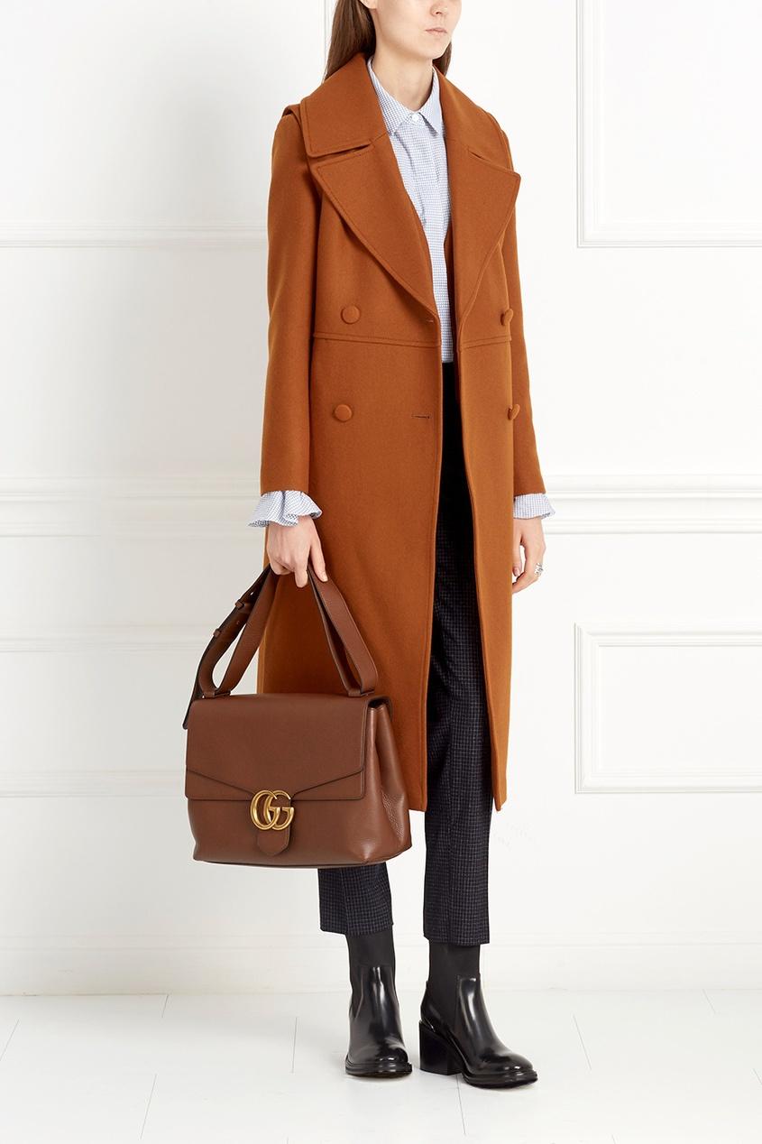 Комплект из пальто и жакета