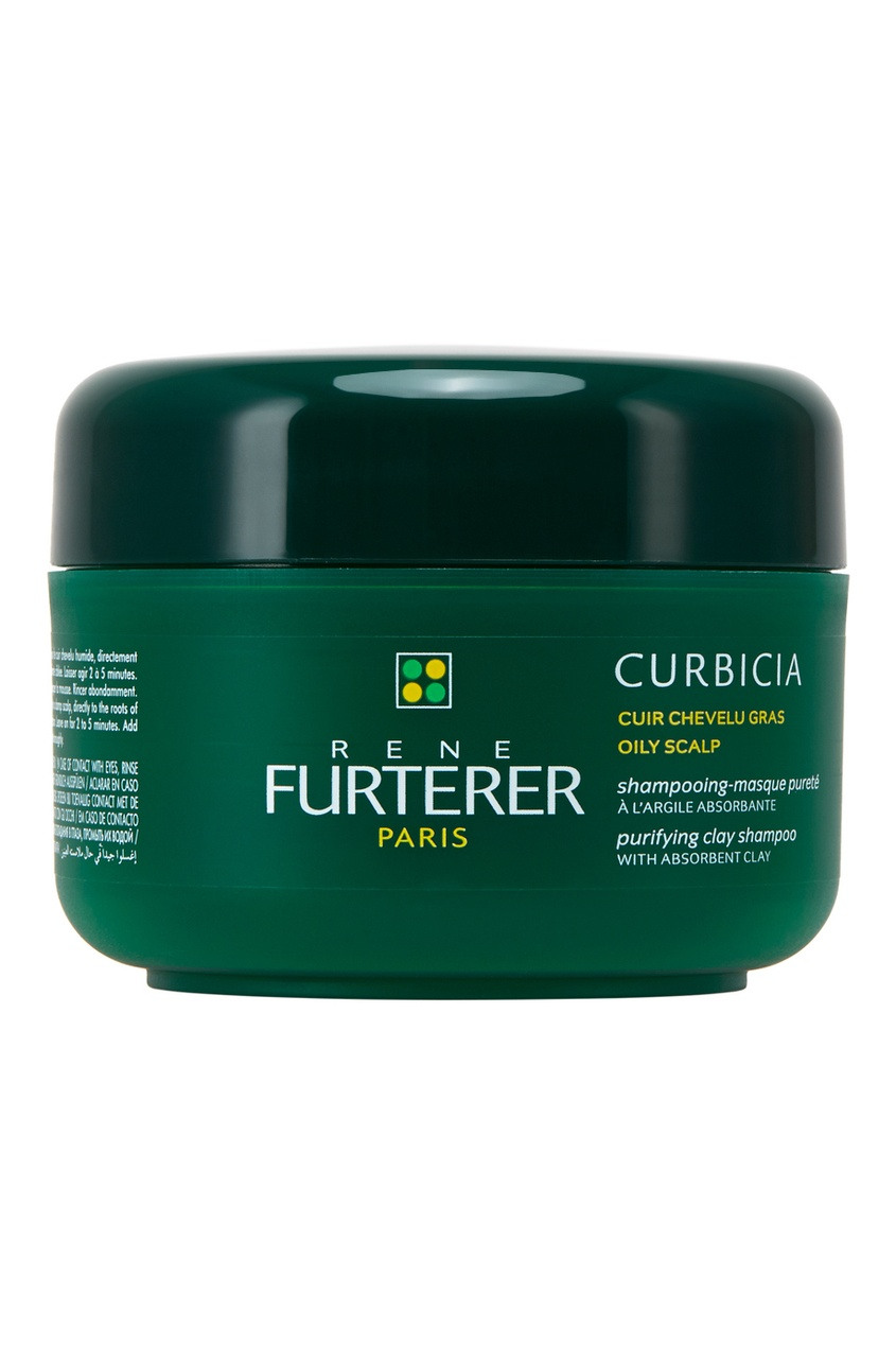 Очищающий шампунь-маска для жирной кожи головы Curbicia 200ml