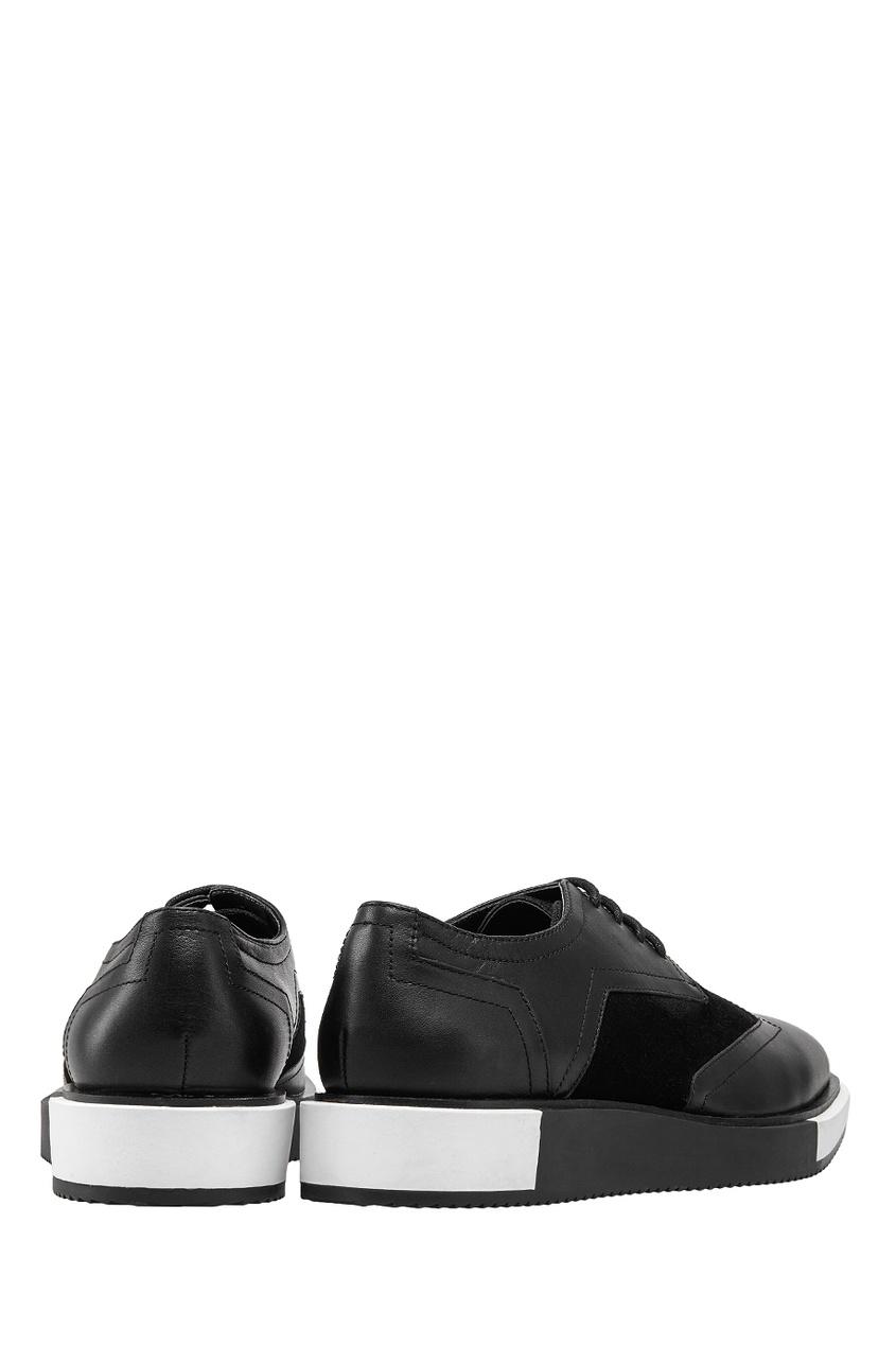 Кожаные ботинки Geo Wings от AIZEL
