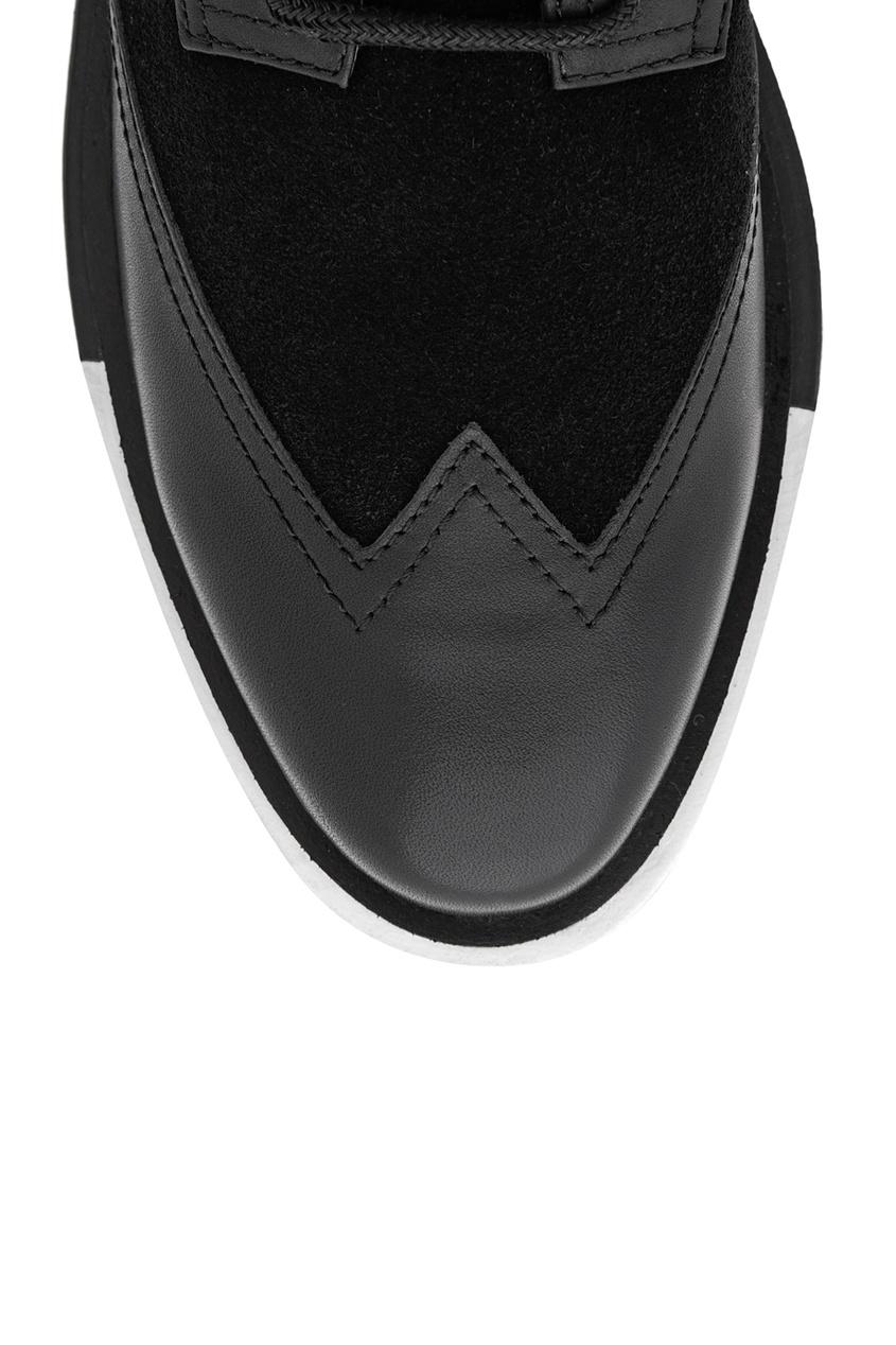 Кожаные ботинки Geo Wings