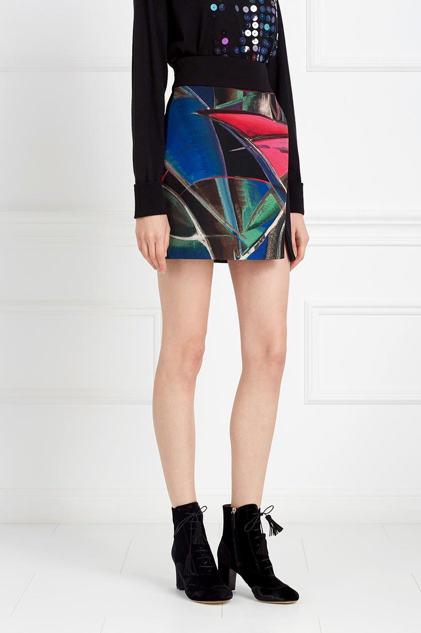Шерстяная юбка от AIZEL