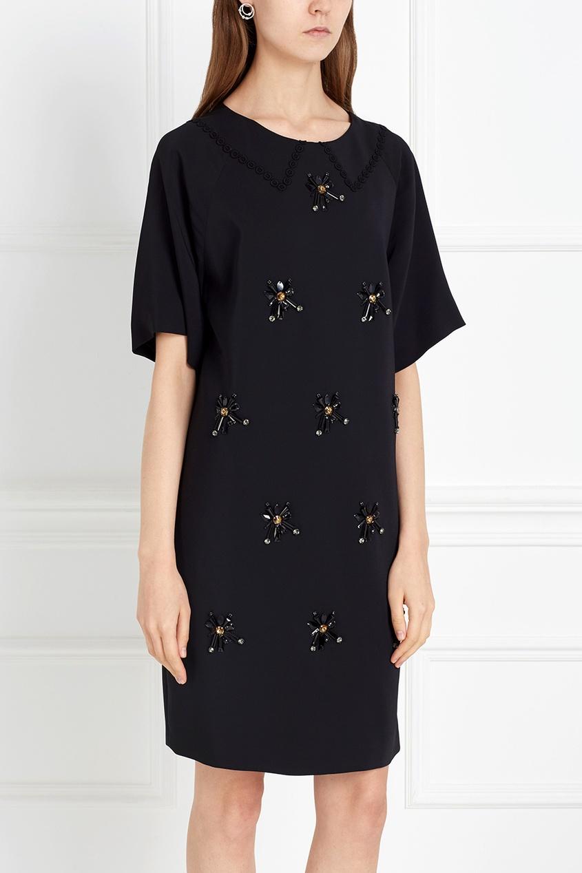 Платье с кристаллами от AIZEL