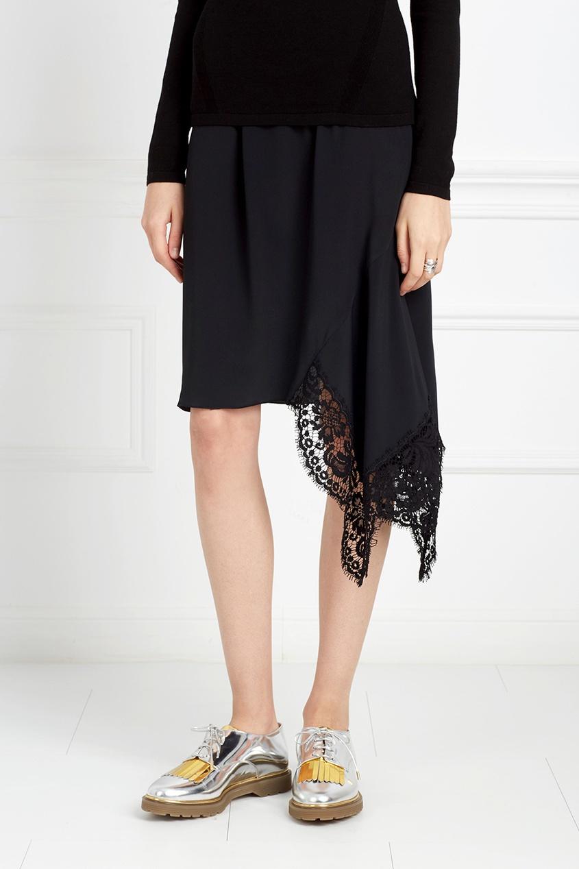 Асимметричная юбка от AIZEL