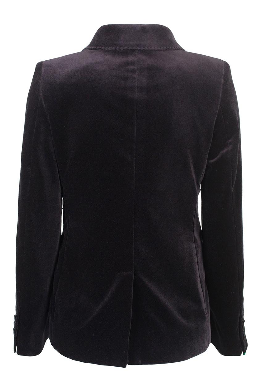 Однотонный пиджак
