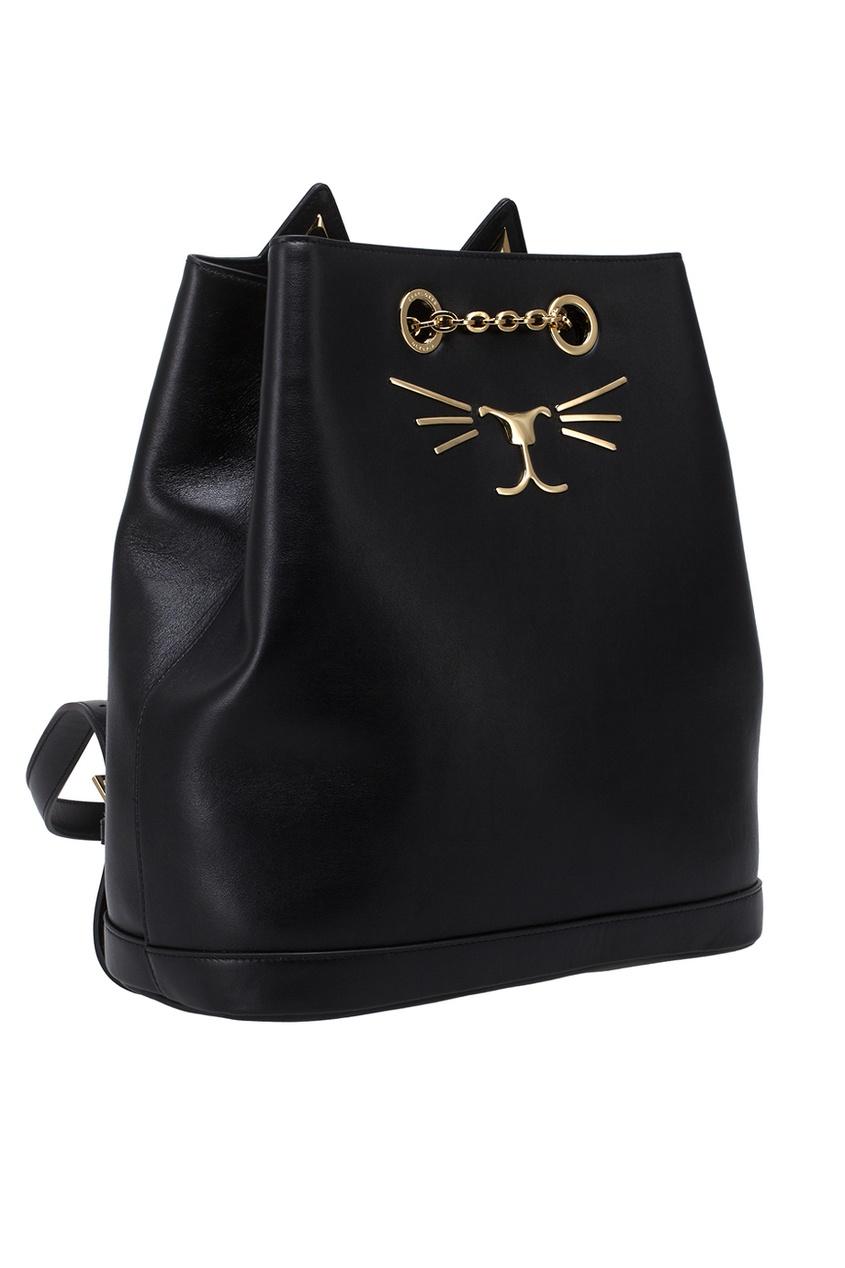 Кожаный рюкзак Feline Backpack