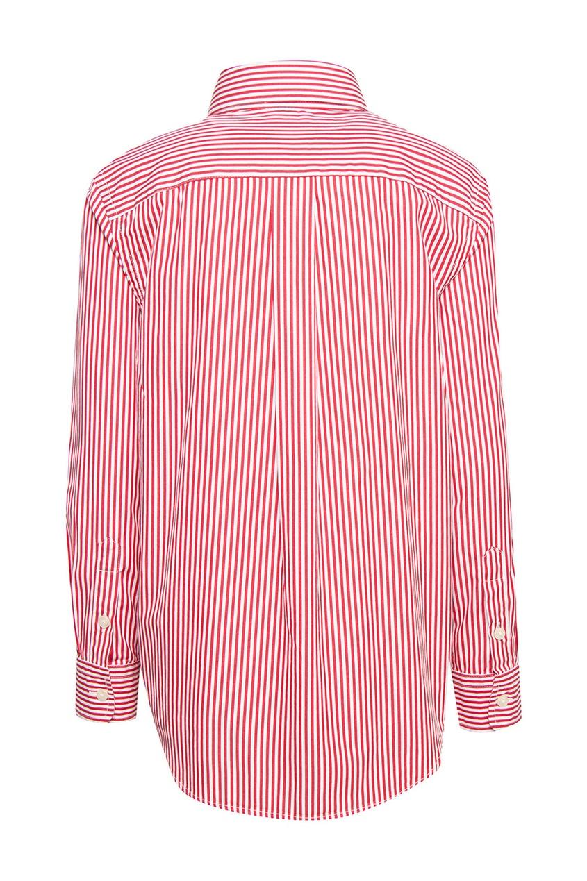 Ralph Lauren Children Хлопковая рубашка gucci children хлопковая рубашка