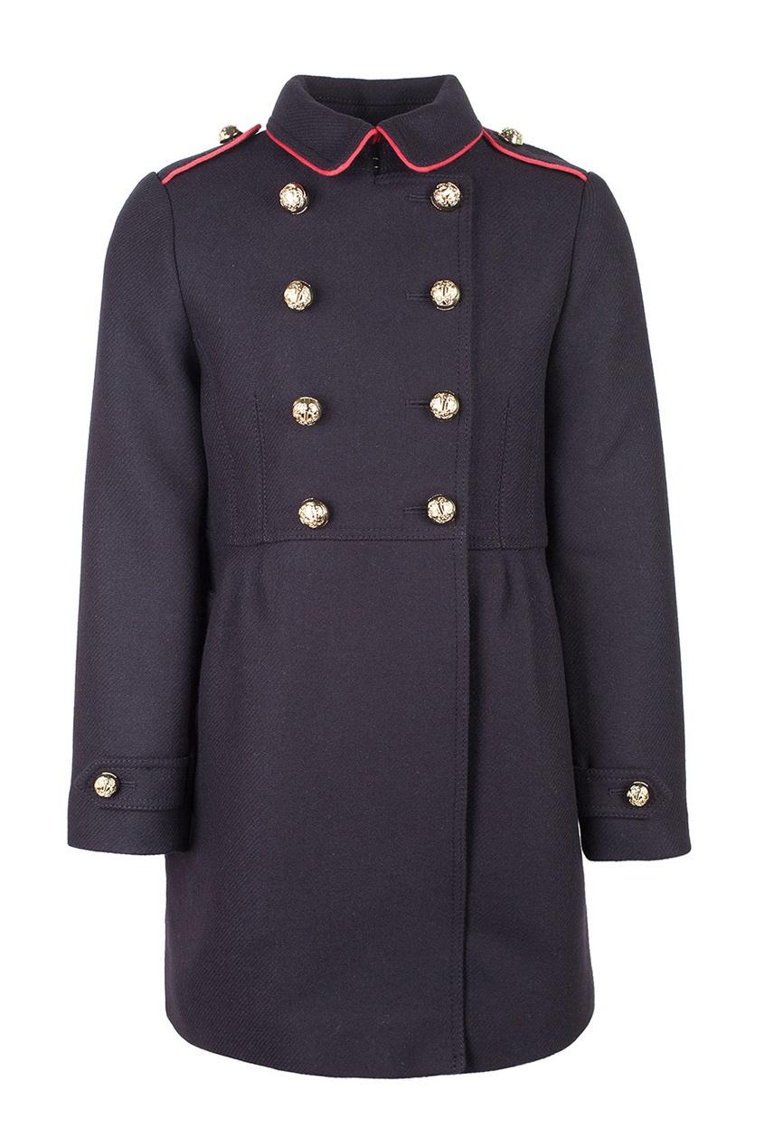 Burberry Children Шерстяное пальто burberry хлопковое пальто