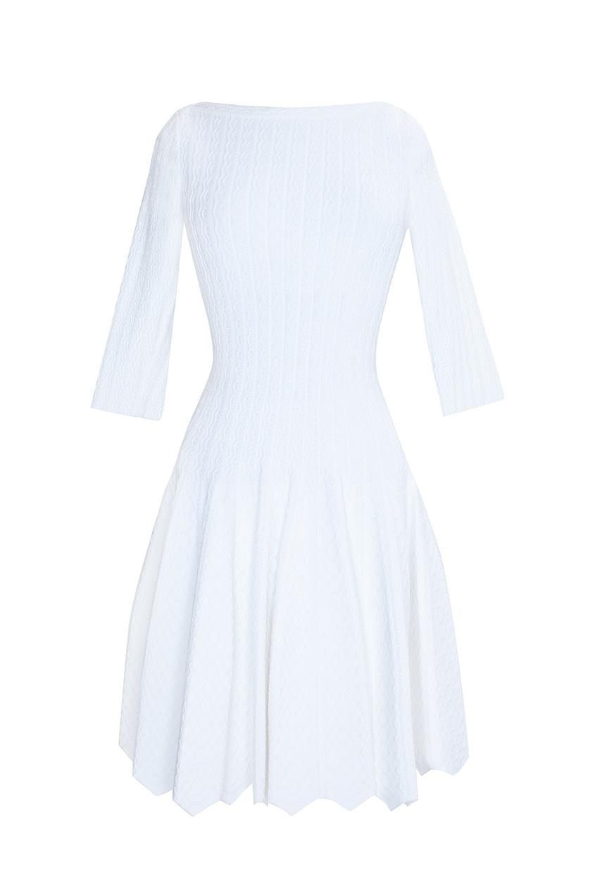 Платье из вискозы и полиамида